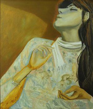 Sueño . óleo sobre lienzo . 70x60cm . 1980