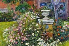 """""""Flores de Otoño"""", una maravillosa pintura Impresionista realizada por Mario Sanzano. Los esperamos en Av. Alvear 1658."""