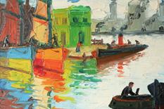 """A partir de hoy, podrá disfrutar en nuestra sala de Cerrito 1522 de """"El Puerto de Buenos Aires"""""""
