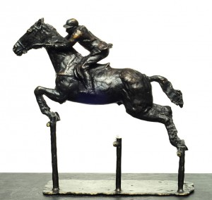 Triple Obstáculo . bronce . 55x54x21cm . 1990