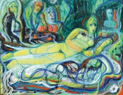 """""""Mis Mujeres"""", así se titula la muestra de Leopoldo Presas que se exhibe a partir de este lunes. Si bien fueron varias las temáticas que abordó el maestro, fue la mujer a quien retrató con devoción."""