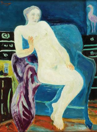 """Continuamos con la exposición de Leopoldo Presas, """"Mis Mujeres"""". 24 trabajos del Maestro pintando uno de sus temas favoritos."""
