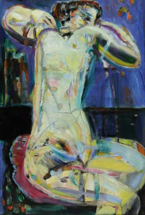 """En 1959 Leopoldo Presas obtiene el Gran Premio de Honor (adquisición) en el XLVIII Salón Nacional de Pintura, por """"Figura"""", con unanimidad del jurado."""