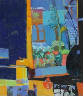 27 obras que confirman la magia de esta maravillosa colorista. Su obra, de carácter figurativo, nos muestra la simpleza de las cosas.