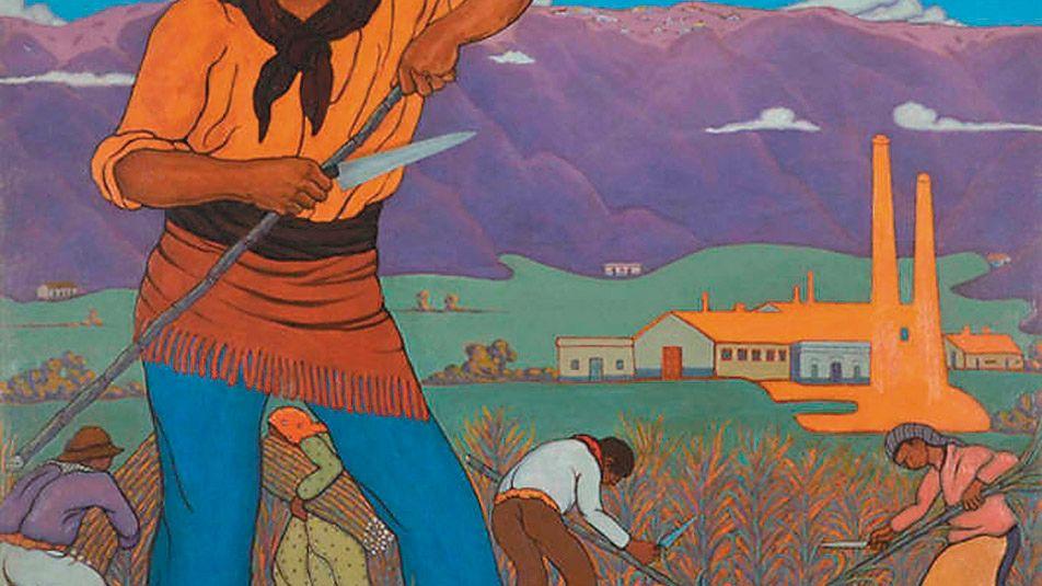 Nacido en Tucumán en 1893, fue el pintor de las costumbres del norte. Sus obras fueron siempre baratas pero en los dos últimos años su cotización ha subido en forma geométrica
