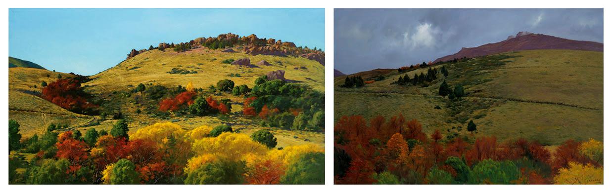 Sus últimas creaciones reflejan distintos lugares de la Patagonia, mostrándonos la belleza que existe en nuestra tierra.