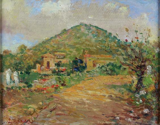 En Colección Alvear exhibimos la obra de uno de los responsables de nuestra pintura moderna, Alfredo Lazzari (1871 - 1949).