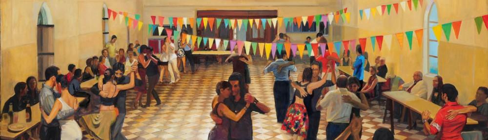 Toque de Gracia . óleo sobre lienzo . 130x180cm . 2014