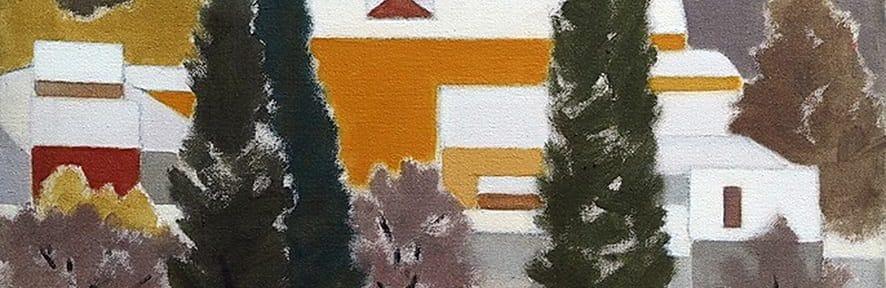 Vancouver Nevado . óleo sobre lienzo . 51x61cm . 1996