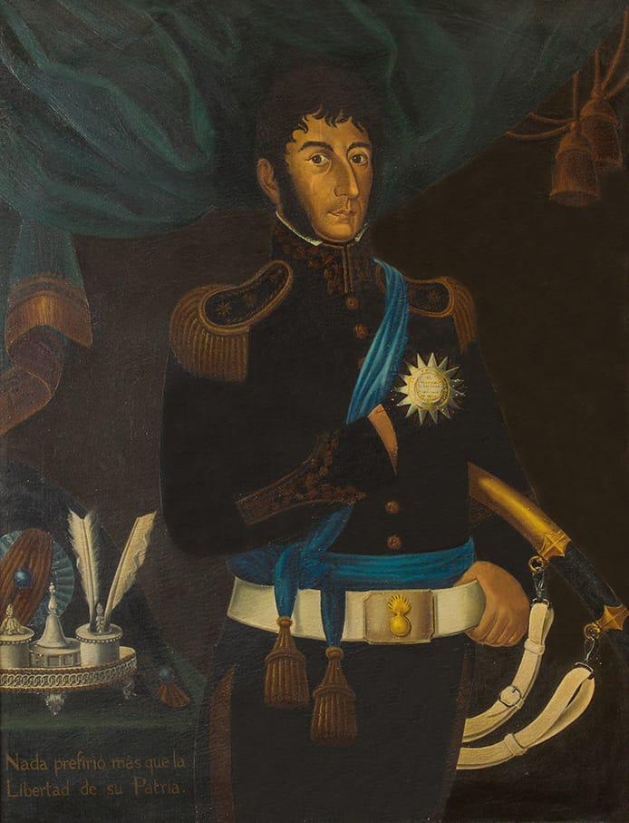 Gil de Castro . General Don José de San Martín