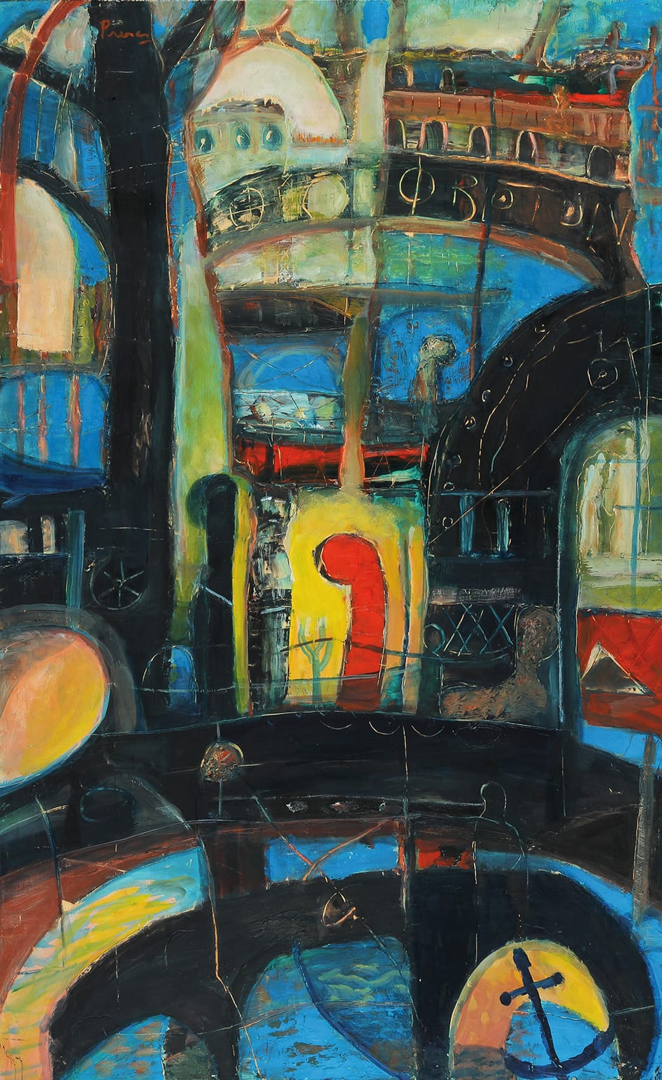 Pintura: Leopoldo Presas (1915 - 2009)