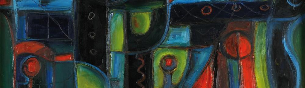 """Puerto"" . óleo sobre lienzo . 60 x 80 cm . 1982"