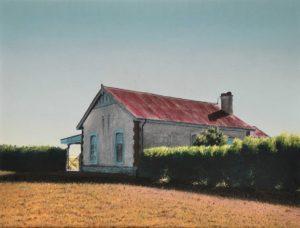 Estación de Miramar. Pastel sobre papel. 47x61cm. 1996