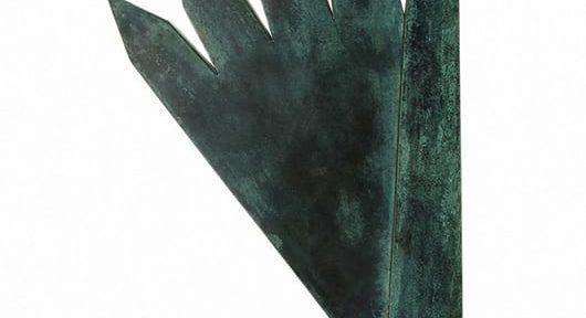 Obelisco. Bronce. 50x30x7cm. 1993