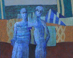 """Agadir"" . óleo sobre lienzo . 80 x 100 cm . 2014"