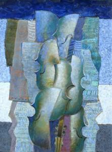 """""""Luz de Luna"""" . óleo sobre lienzo . 80 x 60 cm . 2013"""