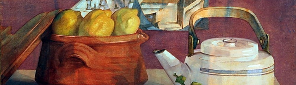 La Mesa . óleo sobre lienzo . 40x50cm . 1996