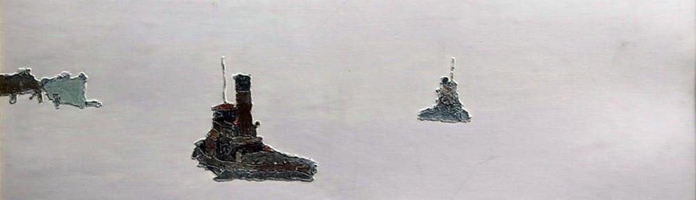 Compañero . óleo sobre cartón . 50x70cm . 1974