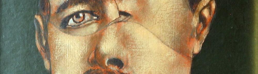 Retrato . acrílico sobre cartón . 20x17cm . 1975