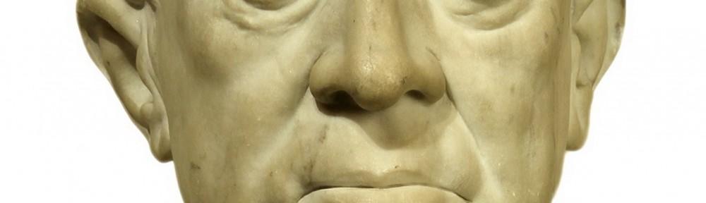 Sarmiento . mármol . 30x19x22cm . 1880