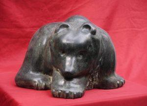 Osezno . bronce . 33x38x40cm . 1991