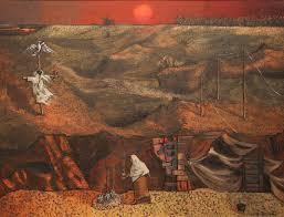 Paisaje . óleo sobre lienzo . 70x100cm . 1981