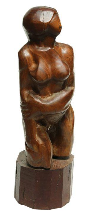 Torso . madera . 36x16x14cm . 1979