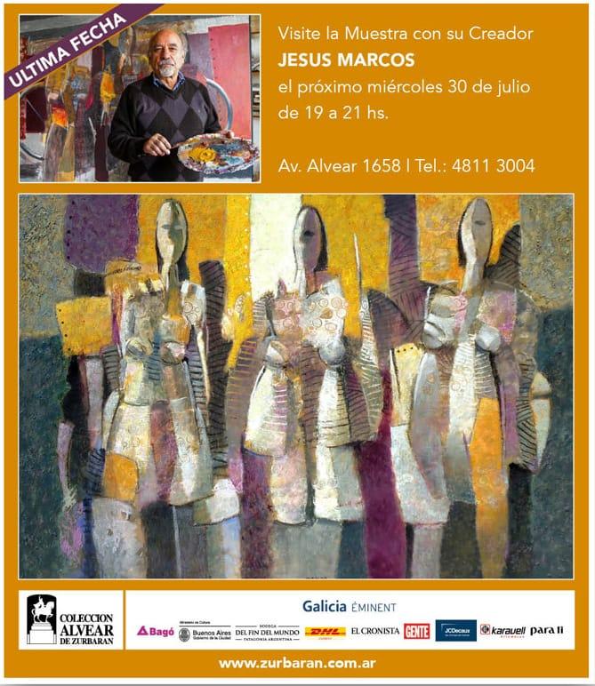 Miércoles 30 de Julio - 19 a 21 hs - Av Alvear 1658