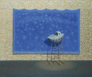 Arca . óleo sobre lienzo . 150x180cm . 2008