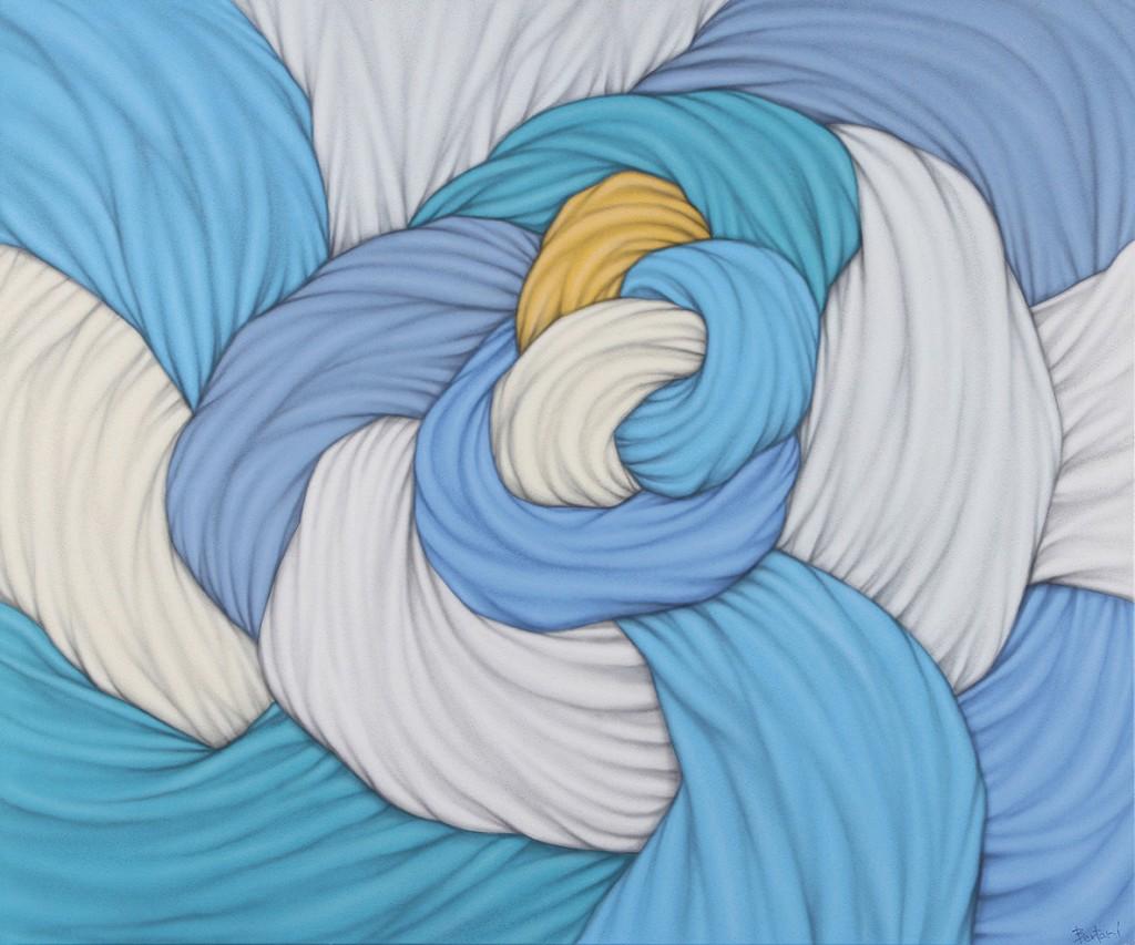 Nudorigen . acrílico sobre lienzo . 100x120cm . 2014