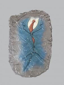Congelado . resina y acrílico . 70x45cm . 2013