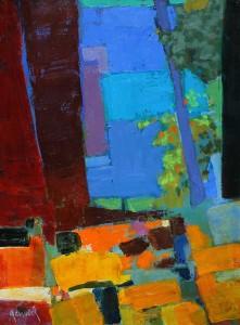 Ventanita . óleo sobre lienzo . 40x30 cm . 2014