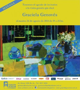 Visita Guiada Graciela Genovés
