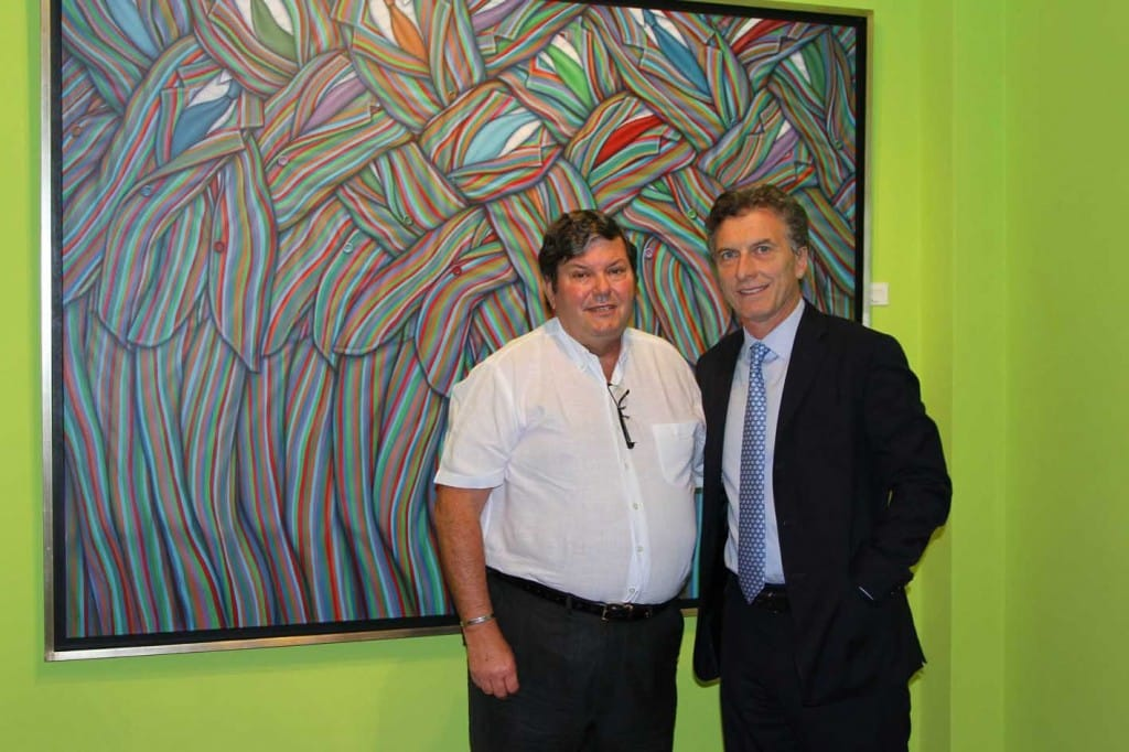 IGZ y Mauricio Macri