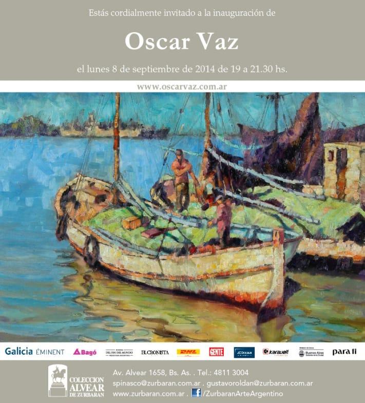 Oscar Vaz en Colección Alvear de Zurbarán