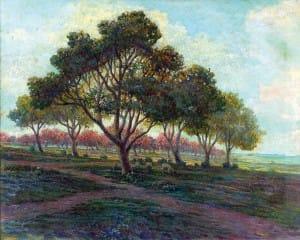 Carnacini Ceferino . Majadita . óleo sobre lienzo . 80x100cm . 1930