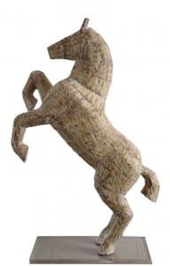 Claudio Barragán . Bagual . madera . 78x50x22cm . 2014