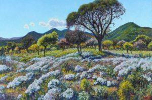 """""""Paraíso"""", óleo sobre lienzo, 80x120 cm, 2014"""