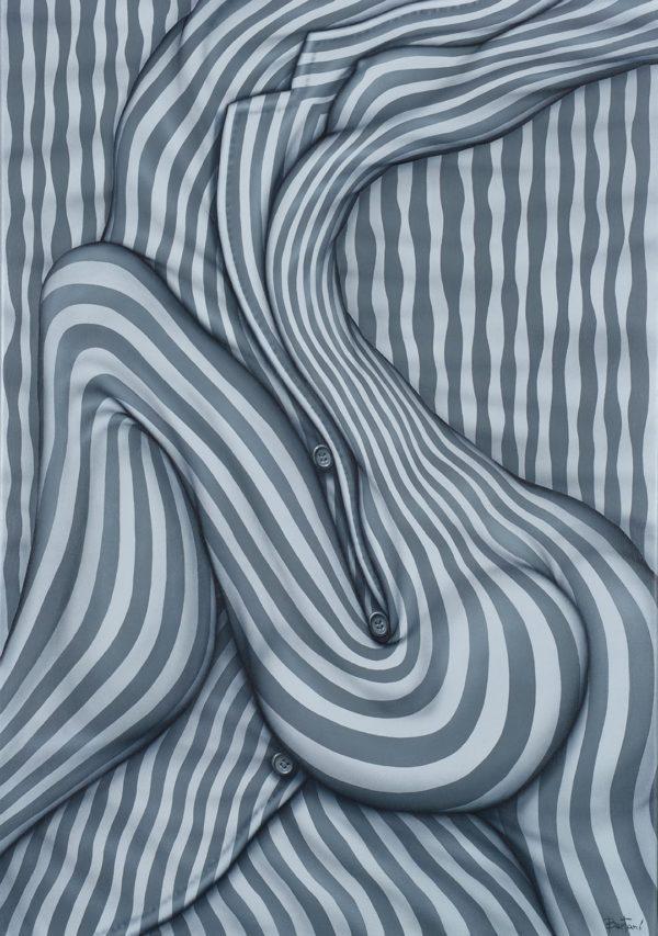 Engrisados . acrílico sobre lienzo . 100x70cm . 2015
