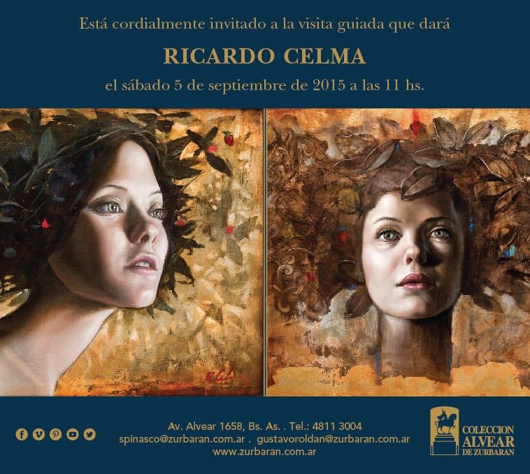 Está cordialmente invitado a la visita guiada que dará Ricardo Celma, el sábado 5 de septiembre de 2015 a las 11hs