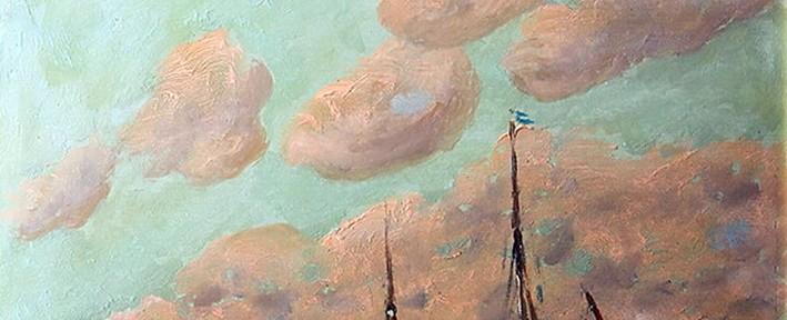 Puerto de Buenos Aires . óleo sobre cartón . 46x38cm . 1920Puerto de Buenos Aires . óleo sobre cartón . 46x38cm . 1920