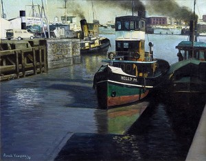 Luz y Sombras . óleo sobre lienzo . 40x50cm . 1978