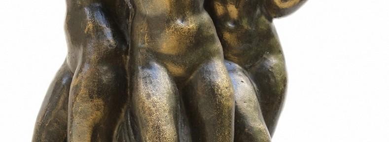 Listado de Obras Agüita Clara . bronce . 37x35x20cm . 1943 Las Tres Gracias . bronce . 32x22x15cm . 1935 Paz . bronce . 48x16x17cm . 1990