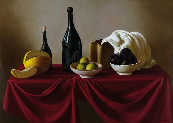 Cotidiano . óleo sobre lienzo . 100 x 140 cm . 2015