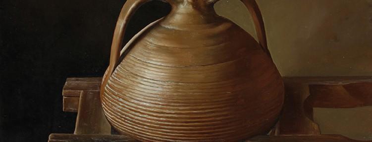 Sencillez . óleo sobre lienzo . 70x 70 cm . 2013