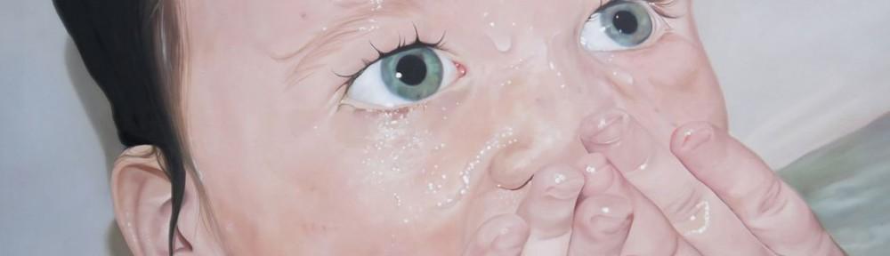 "Florencia Aise di Paola, ""Jesús"", óleo sobre lienzo, 160x160 cm, 2012"