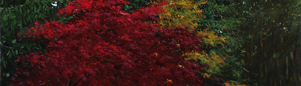 Lujo de Otoño . óleo sobre lienzo . 70x100cm . 2014