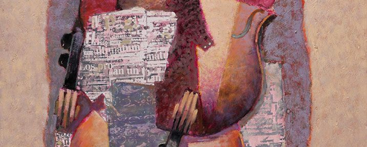 Luz Rosada . óleo sobre lienzo . 100x70cm . 2014