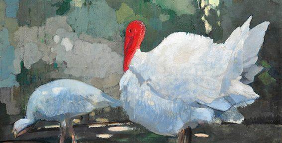 "Lucien Guirand de Scevola. ""Fuente del Amor"". Óleo sobre lienzo. 142x174 cm. 1909"
