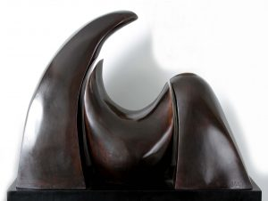 """Caballo"". Bronce. 57x74x28 cm. 2016"